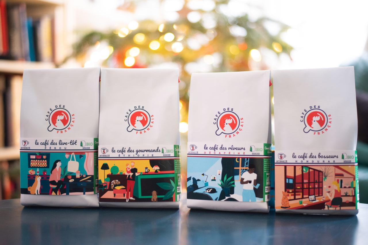 Packaging Café des français