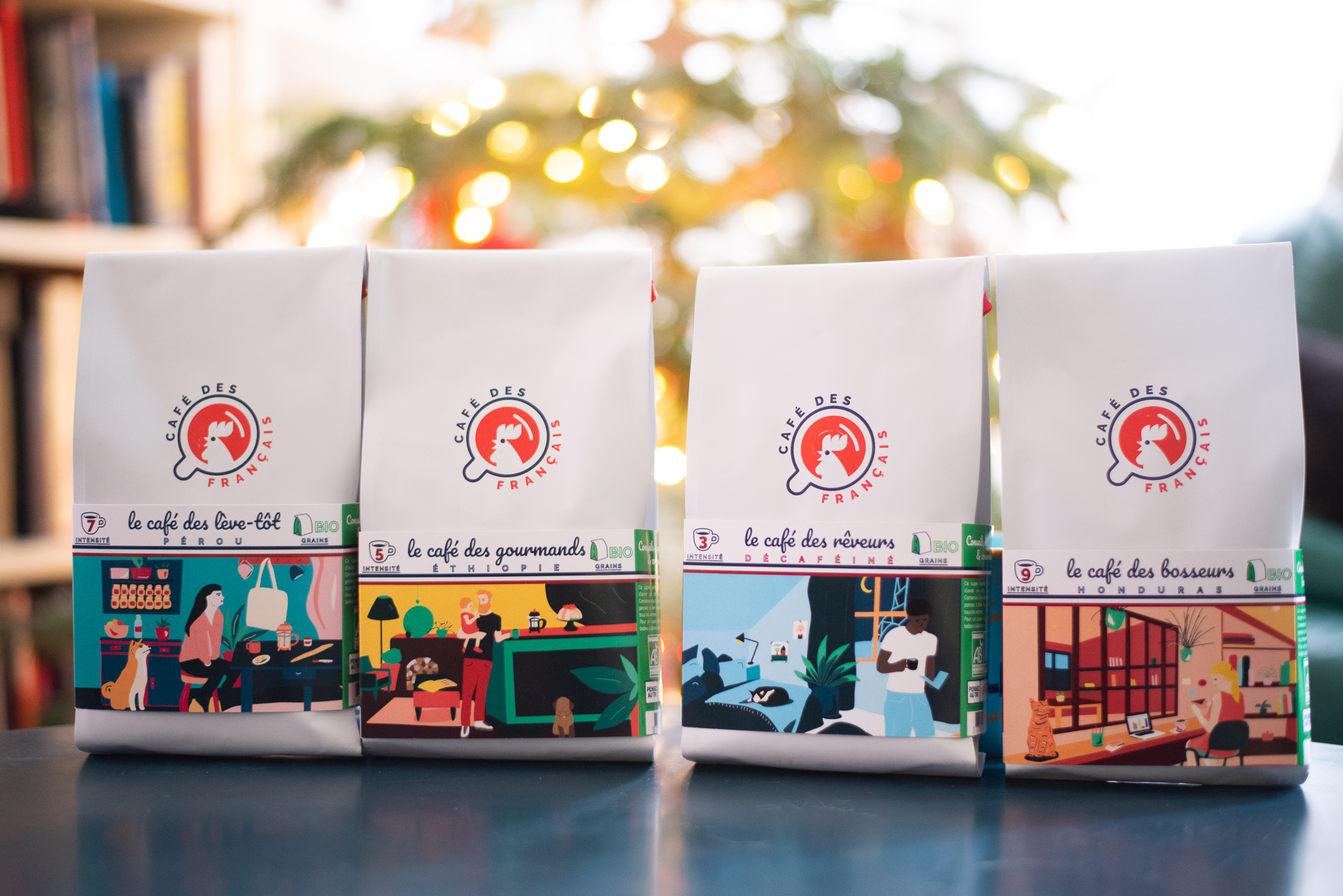 Packaging Café des français